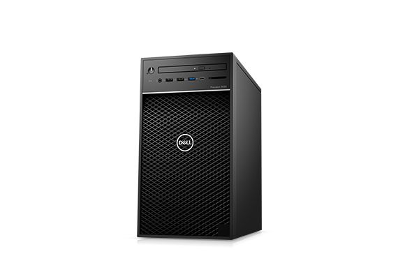 Dell Precision Tower 3630 CTO BASE - i5-8600_T3630-i58600-8-1TB-UB-P620-3Y 42PT3630D01 (Mini Tower)